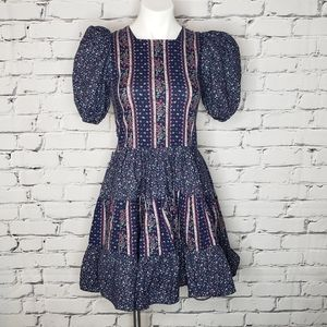 Vintage Cottagecore Prairie Dress